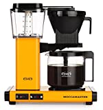 Moccamaster Filter Coffee Machine KBG 741 AO-UK Plug, 1.25 Litre, 1520 W, Yellow Pepper