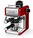 LIVIVO Professional Espresso Cappuccino Coffee Maker Machine with Milk Frothing Arm for Home and...