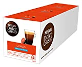 Nescafe Dolce Gusto Lungo Decaff Coffee Pods (Pack of 3, Total 48 Capsules)