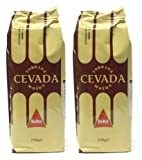 Delta Roasted Ground Barley Coffee Substitute Orzo Cevada Caffeine Free 250g (Pack of 2) by N/A