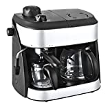 Team Kalorik 2-1 Automatic Coffee and Espresso Maker, 2 Jugs (1.25 L and 0.24 L), 1800 W,...