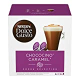 NESCAFÉ Dolce Gusto Chococino Caramel, 16 Capsules (24 Servings, Pack of 3, Total 48 Capsules)