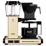 Moccamaster CD Yellow Overflow Coffee Maker KBG 741 Select-Pastel