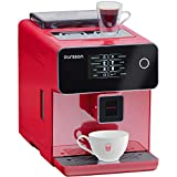 Oursson Super Automatic Coffee Machine, Ceramic Grinder, Touch Screen, 19 Bar, Red, AM6250/RD, 1.7...