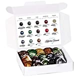 Nespresso Pro Capsules Pods Starter Set - 10 Different Blends - Each with 5 Nespresso Pads (Lungo...