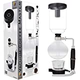 Coffee Master 5-Cup Syphon/Vacuum Glass Coffee Maker