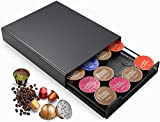 MaxMiuly Dolce Gusto Pod Holder T-Disc Coffee Capsule Holders Coffee Pods Storage Drawer Coffee...