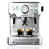Express Coffe machine for espresso and cappuccini with 2 thermoblocks to make coffe and create latte...