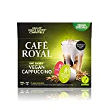Cafe Royal Vegan Cappuccino Oat Based 48 Dolce Gusto (R) Coffee Capsules - Lactose Free