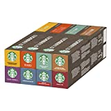 Starbucks Variety Pack 8 Flavour by Nespresso Coffee Pods 8 x 10 Capsules