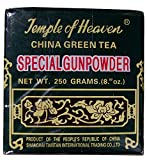 250gram China Gunpowder Tea - Loose Rolled Leaf - Temple of Heaven Brand