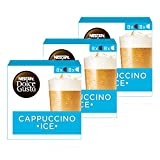 Nescafe Dolce Gusto Cappuccino Ice Coffee, Pack of 3 (Total 48 Capsules, 24 servings)