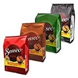 Senseo Coffee Pods, 4Sorten, 192Pads/Variation Month Pack of 48Servings