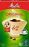 Melitta Original 80 Coffee Filters Two Cup (1 x 2) Brown - Set of 6