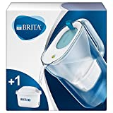 BRITA Style fridge water filter jug for reduction of chlorine, limescale and impurities, 2.4L - Blue
