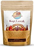Monkey Business Coffee - Wild Kopi Luwak Coffee Ground Beans - Ethically Sourced - 125 Grams (Other...
