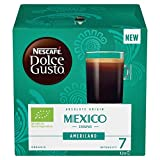 Nescafe Dolce Gusto Americano Mexico Coffee Pods (Pack of 3, Total 36 Capsules)