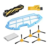 Cleaning Accessory Kit For Conga Excellence Robot Vacuum Cleaners : 4Side Brushes, 1 Central...