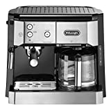 DeLonghi BCO 420.1 Freestanding Semi-auto Combi coffee maker 1L 10cups Black,Silver coffee maker -...