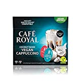 Cafe Royal Vegan Cappuccino Coconut Based 48 Dolce Gusto (R)* Coffee Capsules - Lactose Free