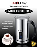 Kushi® - Electric and Automatic Stainless Steel Hot & Cold Milk Frother (240ML)
