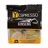 30 NESPRESSO Compatible Capsules - Ginseng