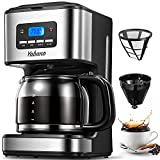 Coffee Maker, Filter Coffee Machine with Timer, 1.8L Programmable Drip Coffee Maker, 40min Keep Warm...