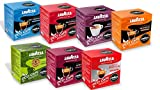 Lavazza A Modo Mio Eco Cap Compostable Coffee Capsules / Pods - Variety Pack - 7 Blends