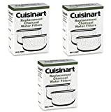 Cuisinart DCC-RWF Charcoal Coffee Maker Water Filters, 3-Pack (6 Filters)