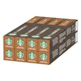 Starbucks House Blend by Nespresso Medium Roast Coffee Pods (Pack of 8, Total 80 Capsules)