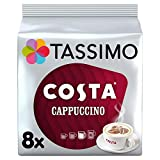 Tassimo Costa Cappuccino Coffee 16 Discs, Pack of 5