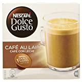Nescafe Dolce Gusto Cafe Au Lait Coffee Capsules, 160g (Pack of 16)