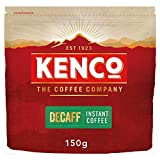 Kenco Decaf Instant Coffee Refill 150g (Total of 6 Packs)