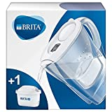 BRITA Marella fridge water filter jug for reduction of chlorine, limescale and impurities, Includes...