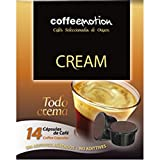 Emotion Coffee Cafe Crema Selection of Guatemala, Brazil and India, 14Capsules Pack