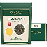 VAHDAM, Green Tea Leaves from Himalayas (50+ Cups) | 100% Natural Tea | Powerful ANTIOXIDANTS |...
