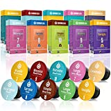 Gourmesso Trial Bundle – 100 Nespresso* Compatible Coffee Capsules – 100% Fair Trade –...