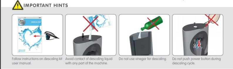 dolce gusto oblo instructions decalcifier