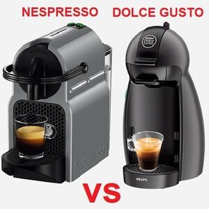 Dolce Gusto Nespresso differences