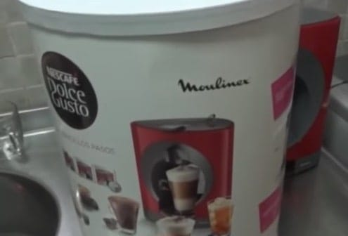 coffee maker dolce gusto moulinex