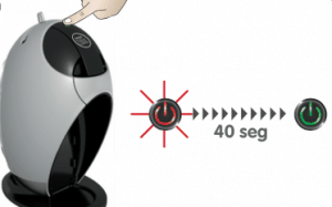 Dolce Gusto: Light Colours of the Power Button