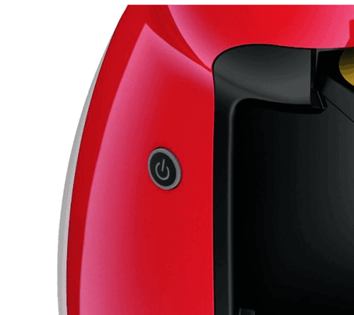 Power button of a Dolce Gusto Piccolo