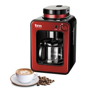 Drip coffee makers with grinder