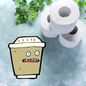 laxative effect of the coffee