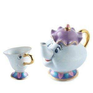 Beauty and the Beast Teapots