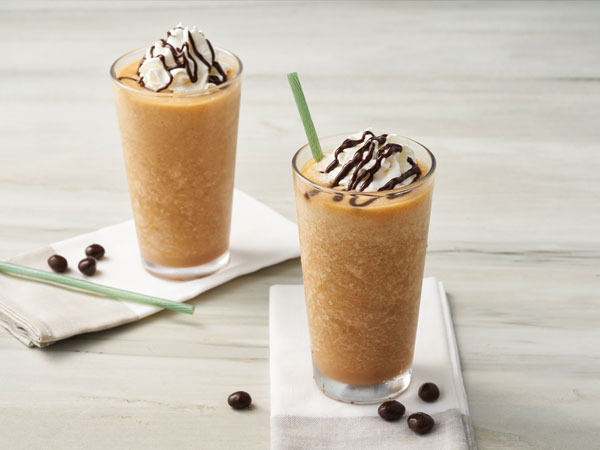 How frappé coffee is made