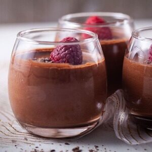 Dark Chocolate And Coffee Mousse
